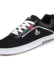 economico -Per uomo Scarpe Maglia traspirante Primavera Autunno Comoda Sneakers per Casual Nero Rosso Blu