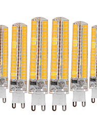abordables -YWXLIGHT® 6pcs 10W 900-1000 lm G9 Luces LED de Doble Pin T 136 leds SMD 5730 Regulable Decorativa Blanco Cálido Blanco Fresco AC 110-130V