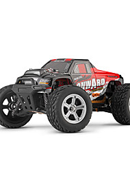 abordables -Voitures RC  L219 4 canaux 2.4G Monster Truck Bigfoot 1:10 Moteur à Balais 30 KM / H