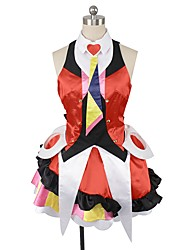 cheap -Inspired by Macross Frontier Cosplay Anime Cosplay Costumes Cosplay Suits Other Sleeveless Top Skirt More Accessories Headwear Tie For