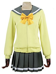 cheap -Inspired by Love Live Anime Cosplay Costumes Cosplay Suits Other Long Sleeve Cravat / Coat / Top For Men's / Women's Halloween Costumes