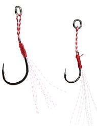 Недорогие -5pcs Лопатка с небольшим отгибом Морское рыболовство Ловля на приманку Спиннинг Ловля на крючок Пресноводная рыбалка Обычная рыбалка