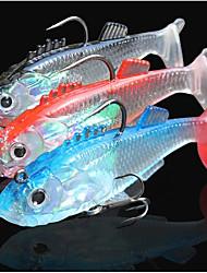 Недорогие -3 штук Рыболовная приманка Shad Морское рыболовство Ловля нахлыстом Ловля на приманку Ловля со льда Спиннинг Ловля на крючок Пресноводная