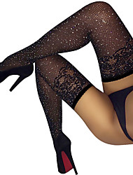 cheap -Women's Thin Sexy Stockings - Solid Colored