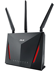 abordables -asus smart wifi routeur gaming dual band double cœur maison intelligente divertissement à domicile gigabite wi-fi 1 pc pc wifi-enabled