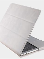 Недорогие -Сумка для хранения Рукава для Сплошной цвет Кожа PU MacBook Air, 13 дюймов Электропитание Внешний аккумулятор