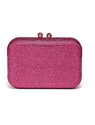 Недорогие -Жен. Мешки PU Вечерняя сумочка Кристаллы Темно-синий / Лиловый / Пурпурный
