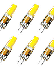 economico -BRELONG® 6pcs 3W 800lm G4 Luci LED Bi-pin 1 Perline LED Bianco caldo Bianco