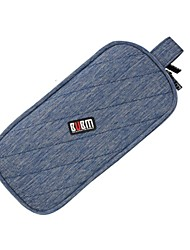 cheap -Storage Bags for Solid Color Nylon Power Supply Flash Drive Hard Drive Headphone/Earphone