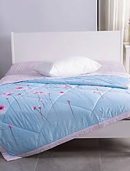 baratos -Confortável Entrelaçado Entrelaçado Acolchoado 300 Tc Floral