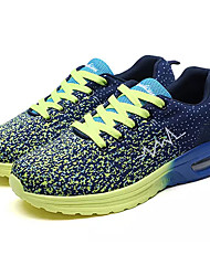 cheap -Men's Tulle Spring / Fall Comfort Athletic Shoes Running Shoes Light Blue / Light Green