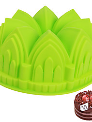 cheap -Bakeware tools Silica Gel Baking Tool For Bread / Cake House Shaped Cake Molds 1pc