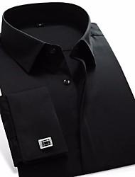 muška stranačka poslovna košulja v vrat stoje klasični ovratnik
