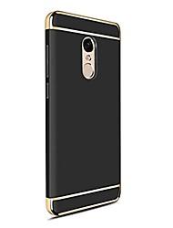Недорогие -Кейс для Назначение Xiaomi Redmi 5 Plus Redmi Note 4X Покрытие Кейс на заднюю панель Сплошной цвет Твердый ПК для Redmi Note 5A Xiaomi