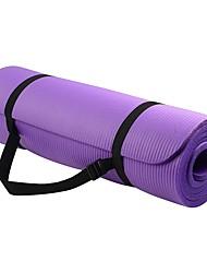 """baratos -Yoga Mats Anti-Derrapagem Antimicrôbico espessamento Multifunção Borracha 0,5 """"(1cm) mm para"""