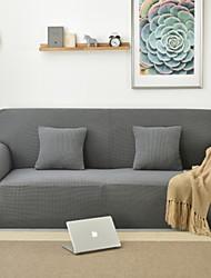 abordables -Moderne 100% Polyester Jacquard Housse de causeuse, simple Couleur Pleine Impression pigmentaire Literie
