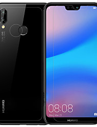 Недорогие -Защитная плёнка для экрана Huawei для Huawei P20 lite PET Закаленное стекло 3 ед. Передняя и задняя и защитная линза для камеры