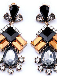 cheap -Women's Synthetic Tanzanite / Crystal Drop Earrings - Crystal, Imitation Diamond Drop Fashion Rainbow For Daily / Going out