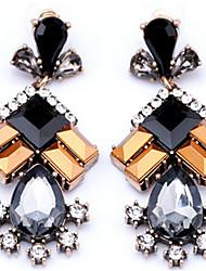 cheap -Women's Drop Synthetic Tanzanite / Crystal / Rhinestone Crystal / Imitation Diamond Drop Earrings - Fashion Rainbow Geometric Earrings For