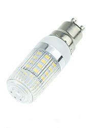 abordables -SENCART 1pc 5W 900 lm E14 G9 GU10 E26/E27 B22 Ampoules Maïs LED T 40 diodes électroluminescentes SMD 5730 Décorative Blanc Chaud Blanc