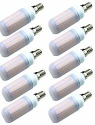 baratos -10pçs 7W 700lm E14 G9 GU10 E26 / E27 E12 Lâmpadas Espiga T 180 Contas LED SMD 2835 Decorativa Branco Quente Branco Frio 200-240V