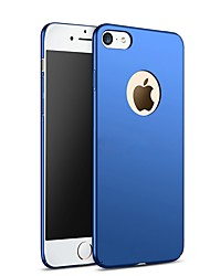 cheap -Case For Apple iPhone X Ultra-thin Back Cover Solid Colored Hard PC for iPhone X iPhone 8 Plus iPhone 8 iPhone 7 Plus iPhone 7 iPhone 6s