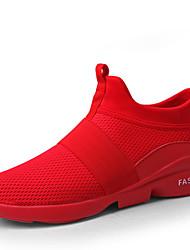 Недорогие -Муж. Микроволокно Весна / Зима Удобная обувь Спортивная обувь Для пешеходного туризма Пригодно для носки Белый / Черный / Красный