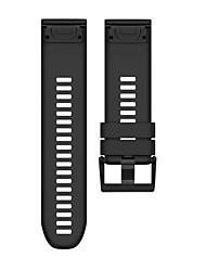 Недорогие -Ремешок для часов для Fenix 3 HR Fenix 3 Garmin Спортивный ремешок силиконовый Повязка на запястье