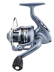 cheap -Fishing Reel Spinning Reel 5.1:1 Gear Ratio+4 Ball Bearings Hand Orientation Exchangable Sea Fishing Ice Fishing Freshwater Fishing