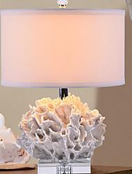 baratos -Moderno/Contemporâneo Decorativa Luminária de Mesa Para Resina 220-240V Branco