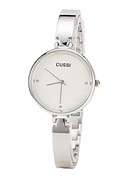 cheap -Women's Fashion Watch Casual Watch Alloy Band Elegant / Minimalist White / Gold
