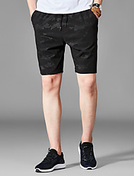 abordables -Homme simple Short Pantalon camouflage