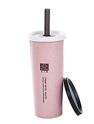 Недорогие -Drinkware Вакуумный Кубок Пластик сохраняющий тепло На каждый день
