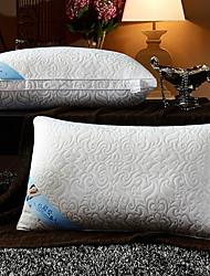 Недорогие -Комфортное качество Полиэфир Надувной подушка Пуховое перо Полиэстер