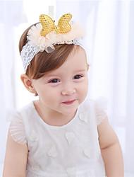 cheap -Girls' Hair Accessories, All Seasons Lace Headbands - Gold