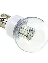 cheap -4W 3000-3500 lm E26/E27 LED Globe Bulbs G60 27 leds SMD 5730 Warm White DC 24V AC 24V AC 12V DC 12V