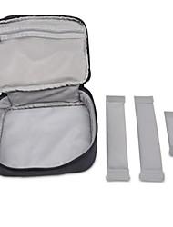 Ærmer for Helfarve Nylon Strømforsyning Flash Drive Batteribank Harddisk Høretelefoner/øretelefoner