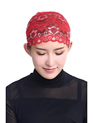 cheap -Women's Cute Lace Hijab - Jacquard Lace