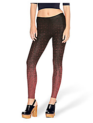 cheap -Women's Basic Legging Geometric High Waist