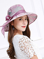 cheap -Women's Sun Hat - Floral Lace Bow