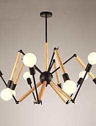 cheap -LightMyself™ 10-Light Pendant Light Ambient Light 110-120V / 220-240V, Warm White / White, Bulb Included / 20-30㎡ / E26 / E27