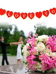 Недорогие -Свадьба / Особые случаи деревянный Свадебные украшения Сад / Азия / Праздник Все сезоны