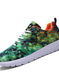 economico -Per uomo / Unisex Suole leggere Tulle / PU (Poliuretano) Primavera / Estate Comoda scarpe da ginnastica Corsa Viola / Fucsia / Verde