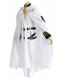 cheap -Inspired by Seraph of the End Other Anime Cosplay Costumes Cosplay Suits Solid Long Sleeves Others Coat Pants Collar Belt Waist Accessory