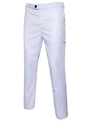 cheap -Men's Basic Suits Pants - Solid Colored