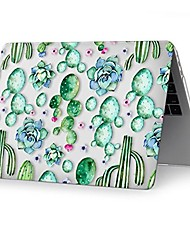 "MacBook Etui for Blomster/botanik Plast Ny MacBook Pro 15"" Ny MacBook Pro 13"" MacBook Pro 15-tommer MacBook Air 13-tommer MacBook Pro"