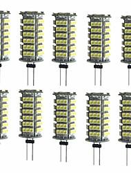 cheap -10pcs 2W 200 lm G4 LED Bi-pin Lights T 1 leds SMD 3528 Decorative Warm White Cold White DC 12V