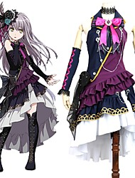cheap -Inspired by BanG Dream Cosplay Anime Cosplay Costumes Cosplay Suits Other Sleeveless Cravat Dress More Accessories For Men's Women's