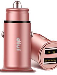 abordables -Cargador de Coche Cargador usb USB Multisalida / QC 2.0 2 Puertos USB 2.1 A DC 12V-24V para