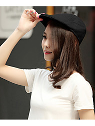 cheap -Unisex Work Polyester Beret Hat Floppy Hat Sun Hat Baseball Cap - Solid Colored